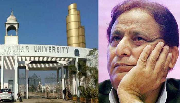 UP: जौहर यूनिवर्सिटी में पैमाइश के लिए पहुंची प्रशासन की टीम, सरकारी रास्ते पर था कब्जा