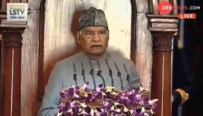 Budget Session: राष्ट्रपति ने कहा, 'CAA लाकर सरकार ने महात्मा गांधी की इच्छा को पूरा किया'