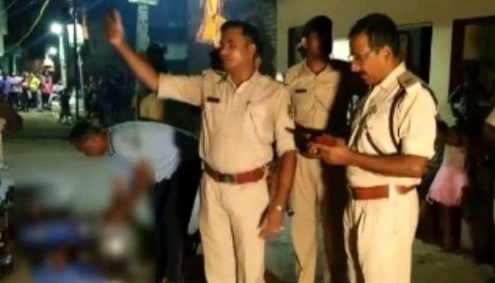 बिहार में थाना-पुलिस बैरक से शराब बरामद, 4 पुलिसकर्मी गिरफ्तार
