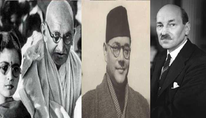 आजादी के आंदोलन में गांधी के योगदान पर सवाल