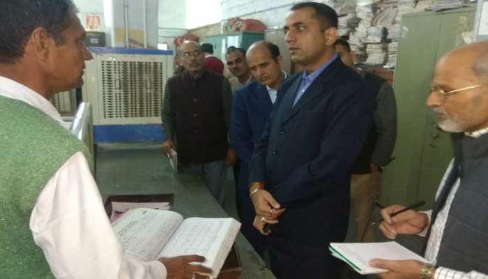 जयपुर: कलेक्टर की औचक निरीक्षण से कर्मचारियों की खुली पोल, कई नोटिस जारी...