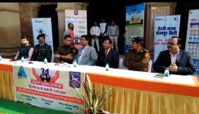 धौलपुर परिवहन विभाग ने किया राष्ट्रीय सड़क सुरक्षा सप्ताह का शुभारंभ