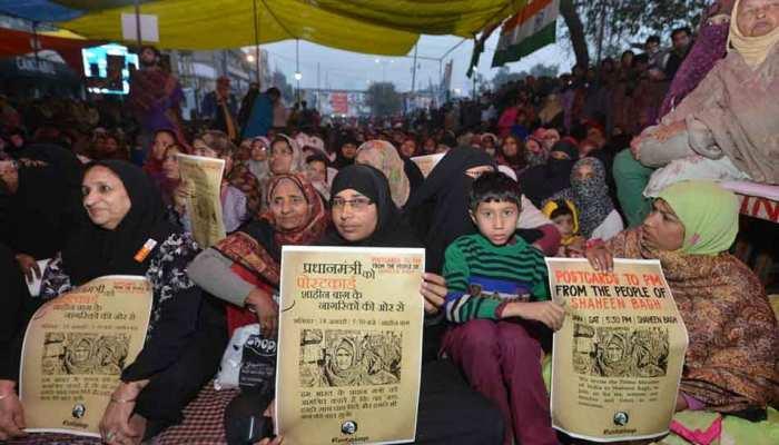 शाहीन बाग में प्रदर्शन कर रहे 50 लोगों को दिल्ली पुलिस ने भेजा नोटिस