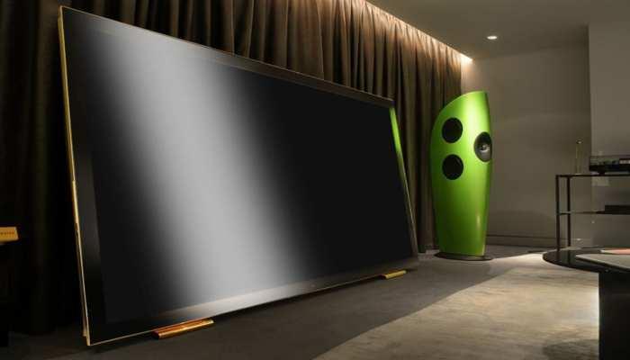 OMG! 24 कैरेट सोने की TV देख आप भी रह जाएंगे हैरान, करोड़ो में है कीमत
