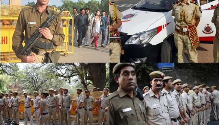 दिल्ली में मतदान को सुरक्षित बनाने के लिए पुलिस ने कसी कमर