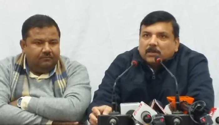 दिल्ली: संजय सिंह ने ऑटो रिक्शा का किराया बढ़ाए जाने पर दिया ये बयान, बीजेपी पर साधा निशाना