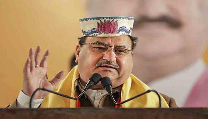 दिल्ली चुनाव: BJP अध्यक्ष जेपी नड्डा का ट्वीट, 'पहले मतदान, फिर जलपान'