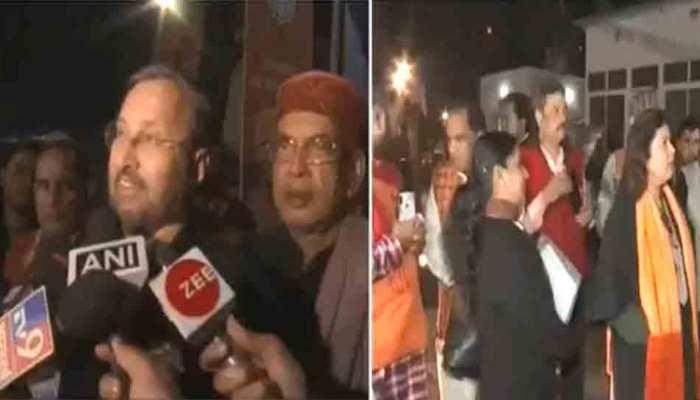 दिल्ली चुनाव पर BJP की मीटिंग: जावड़ेकर बोले- हम Exit नहीं Exact Polls पर यकीन रखते हैं