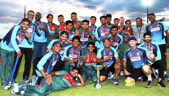 U19 World Cup: जीत के बाद बौखलाए बांग्लादेशी खिलाड़ी, टीम इंडिया से की बदसलूकी, देखेें VIDEO