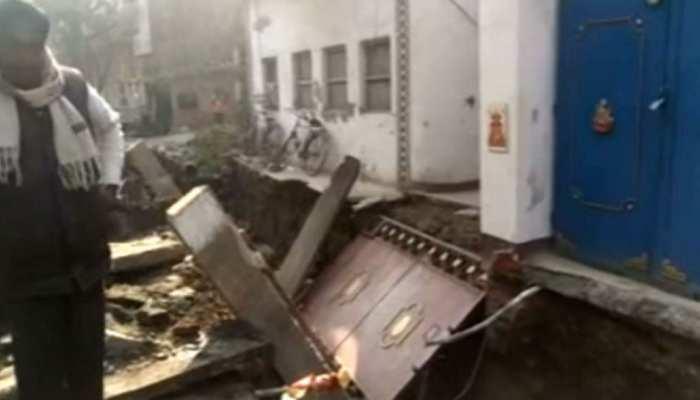 बिहार: मुजफ्फरपुर में दीवार गिरने से मजदूर की हुई मौत, शव को छोड़ भागा ठेकेदार
