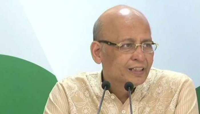 कांग्रेस नेता अभिषेक मनु सिंघवी ने किया दुखद ट्वीट- 'My soul mate & buddy left me today'