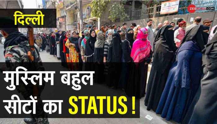 दिल्ली की 8 सीटों पर मुस्लिम वोटर्स का दबदबा, जानिए चुनाव में किस पार्टी के हाथ लगी जीत