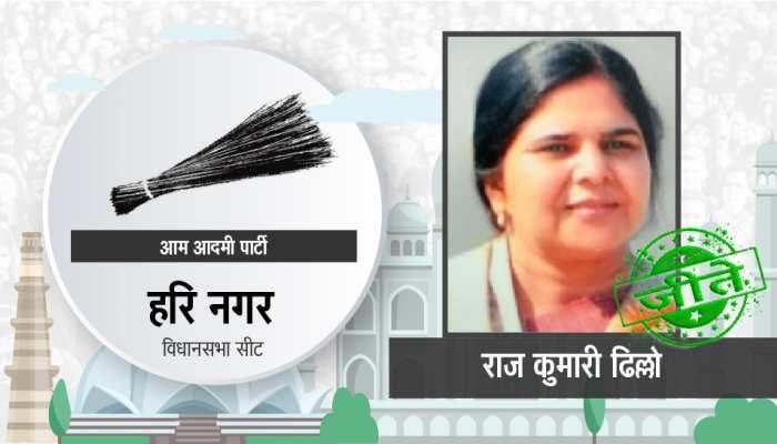 दिल्ली विधानसभा चुनाव: हरि नगर सीट से आप की राजकुमारी ढिल्लो जीतीं, BJP के तेजेंदर सिंह बग्गा हारे