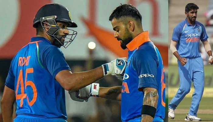 ICC ODI Ranking: बुमराह ने गंवाई टॉप पोजीशन, विराट-रोहित को नहीं हिला सका कोई