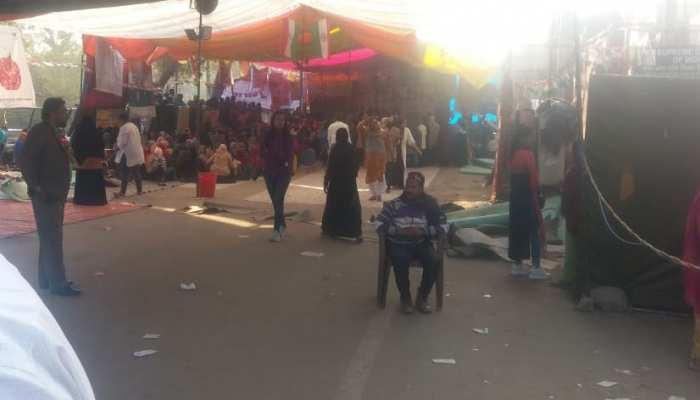 शाहीन बाग में विरोध प्रदर्शन जारी, लेकिन दिल्ली चुनाव के परिणाम आते ही भीड़ हो गई गायब
