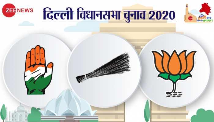दिल्ली विधानसभा चुनाव खत्म, सिर्फ एक क्लिक कर पढ़ें सभी 70 सीटों का हाल
