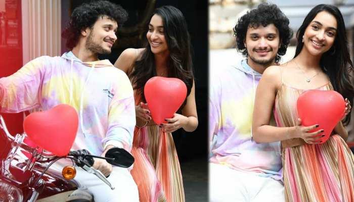 These photos of Mithun's son Namashi Chakraborty went viral on Valentine's Day