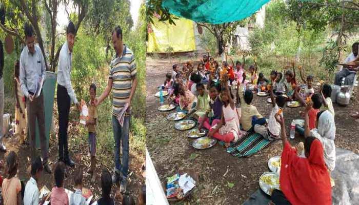अमरावती: जिला प्रशासन की बेहतरीन पहल, ईंट-भट्ठा मजदूरों के बच्चों के लिए बनाया गया स्कूल