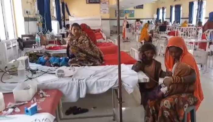 भीलवाड़ा में परिजनों की हैवानियत, बुखार से तप रहे 1 साल की मासूम को गर्म सलाखों से दागा...