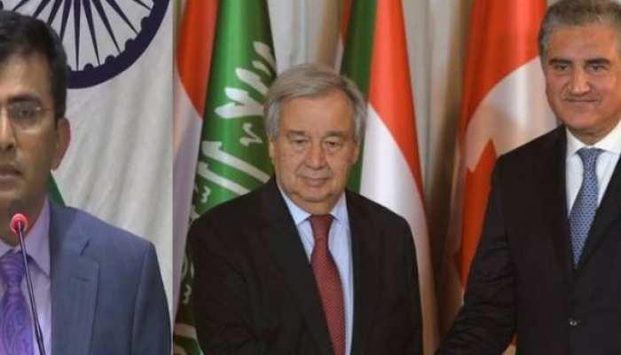 कश्मीरः UN महासचिव करा रहे थे मध्यस्थता, भारत ने कहा-गुंजाइश नहीं