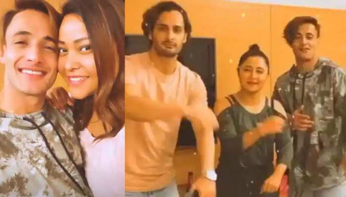 Bigg Boss 13 check out here inside pictures from asim riaz himanshi khurana and rashami desais party read latest tv news