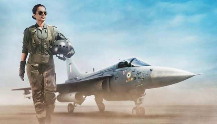 Tejas First Look: एयरफोर्स पायलट के अवतार में धाकड़ दिखीं कंगना रनौत, छा गया अंदाज