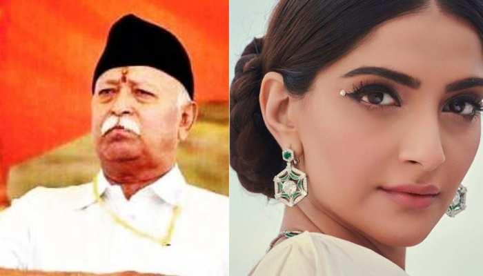 RSS चीफ मोहन भागवत ने दिया तलाक पर बयान तो सोनम कपूर भड़कीं, बोलीं- 'मूर्खतापूर्ण'