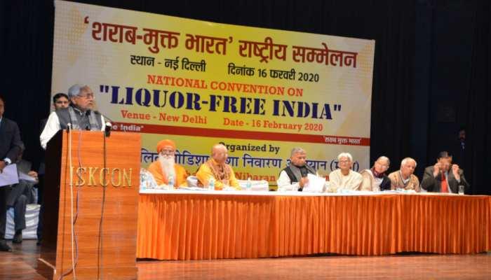 नीतीश कुमार का बड़ा बयान- शराबबंदी पूरे देश में हो लागू, यह गांधी जी का सपना था