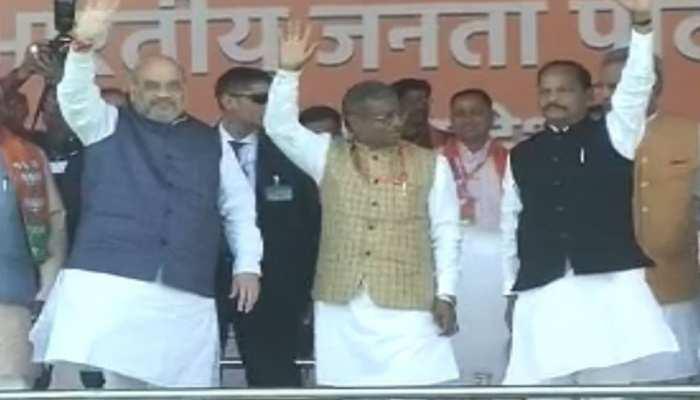 खत्म होगा बाबूलाल मरांडी का वनवास, BJP-JVM मिलन समारोह में पहुंचे अमित शाह