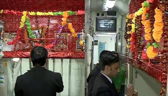ट्रेन में भगवान शिव के लिए सीट रिजर्व रखने पर शुरू हुई सियासत, ओवैसी ने PMO को किया ट्वीट