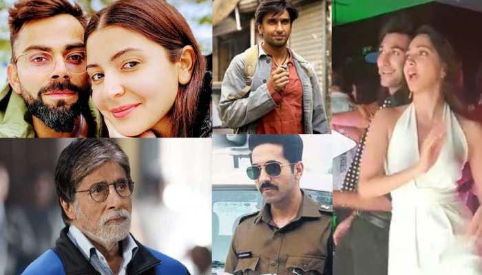 Entertainment News (18 FEBRUARY): विरुष्का के इमोशन से रणवीर की पोस्ट तक, पढ़ें 5 खबरें