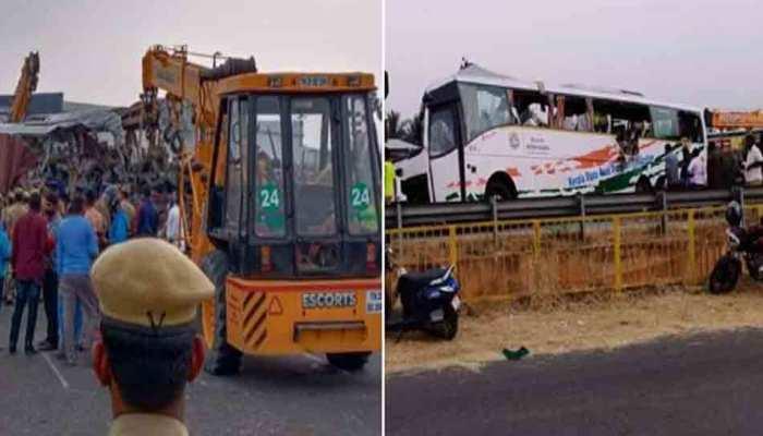 तमिलनाडु में भीषण सड़क हादसा, लॉरी-बस की टक्कर में 19 लोगों की मौत, 25 घायल