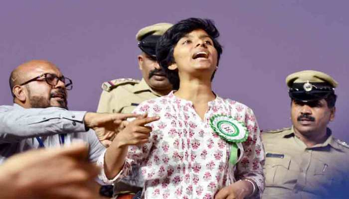 कर्नाटक: मुख्यमंत्री येदियुरप्पा ने कहा, 'अमूल्या का था नक्सलियों से संपर्क'