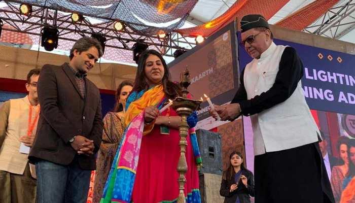 IndiaKaArth festival strats in jawahar lal nehru stadium in delhi