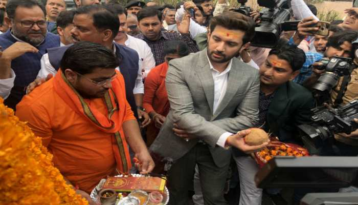 'बिहार फर्स्ट, बिहारी फर्स्ट' यात्रा पर निकले चिराग, पटना से की शुरुआत
