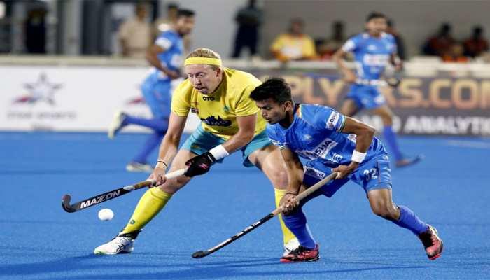FIH Hockey Pro League : आस्ट्रेलिया ने कड़े मुकाबले में भारत को दी मात
