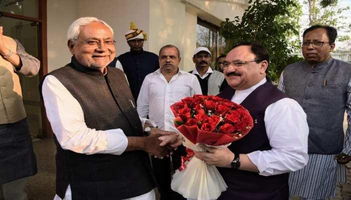 बिहार: CM नीतीश से मिले जेपी नड्डा, विधानसभा चुनाव को लेकर हुई चर्चा
