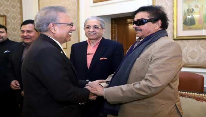 चुपके से पाकिस्तान पहुंचे शत्रुघ्न सिन्हा, राष्ट्रपति आरिफ अल्वी से मिले