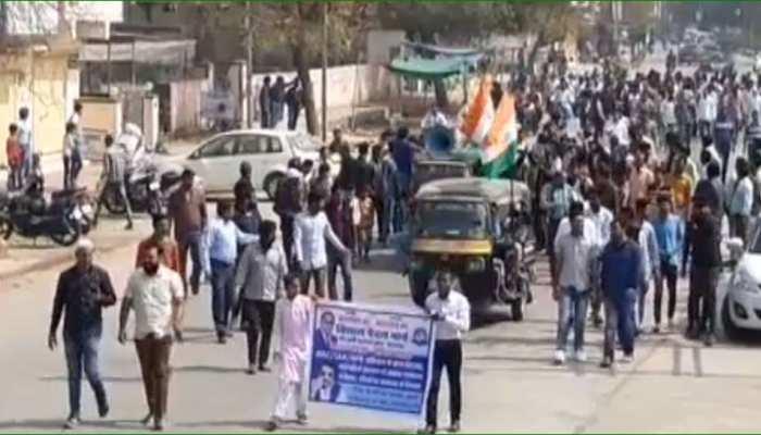 भीम आर्मी के भारत बंद का झालावाड़ में आंशिक असर, CAA और NRC के खिलाफ लगे नारे