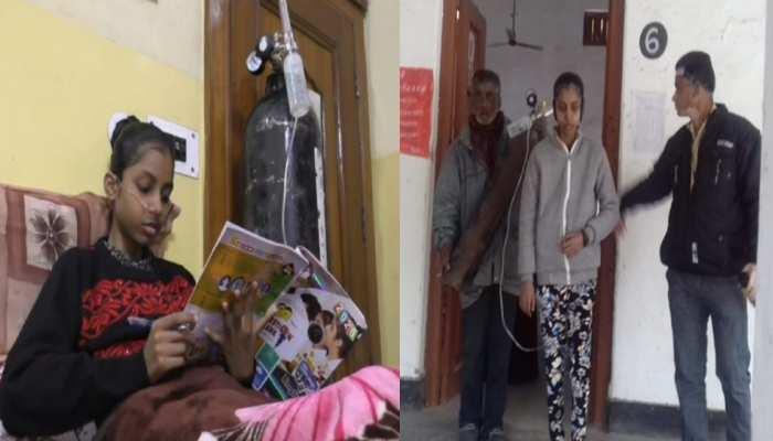 UP Board Exam : साफिया जावेद के हौंसले देख हर कोई है हैरान