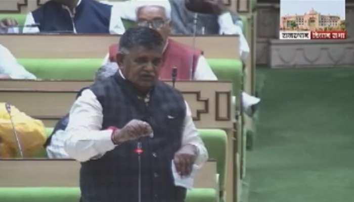 राजस्थान: सदन में BJP ने उठाया ओलावृष्टि प्रभावित जिलों का मुद्दा, कांग्रेस ने कहा...