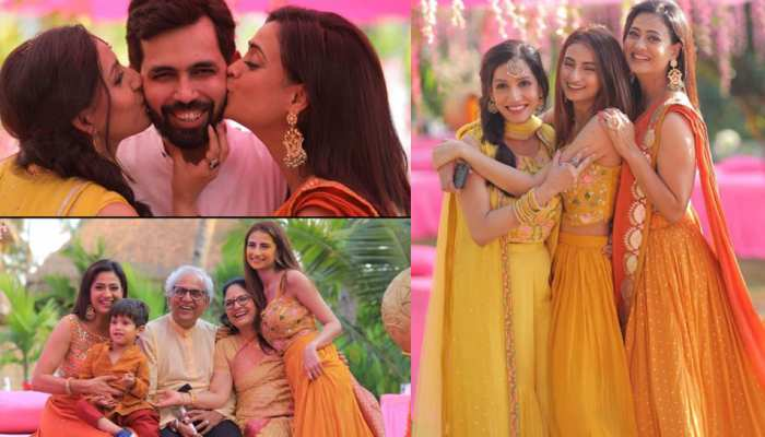Shweta Tiwari became famous with her daughter Palak in brother's wedding, pictures are going viral