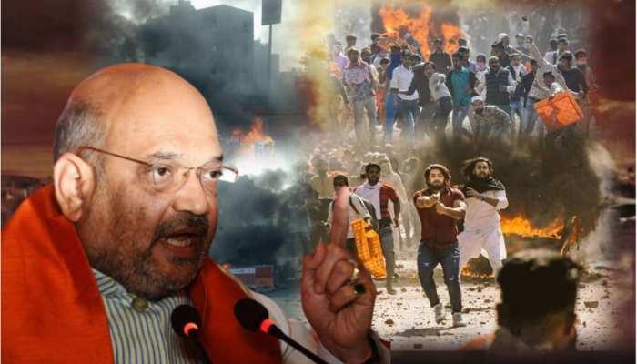 दंगाईयों को ठिकाने लगाने के लिए गृहमंत्री अमित शाह ने खुद संभाली कमान