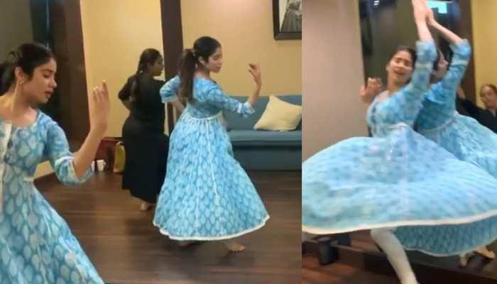 Janhvi Kapoor ने किया ऐसा क्लासिकल डांस, VIDEO देखकर लोग बोले- 'मां की परछाई'