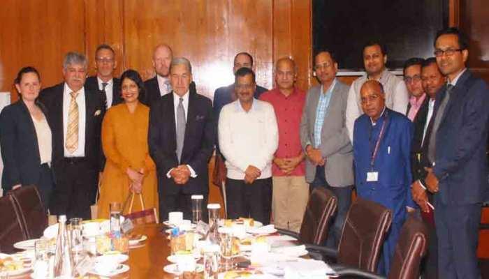 दिल्ली: 'हैप्पीनेस क्लास' से प्रभावित हुए न्यूजीलैंड Deputy PM