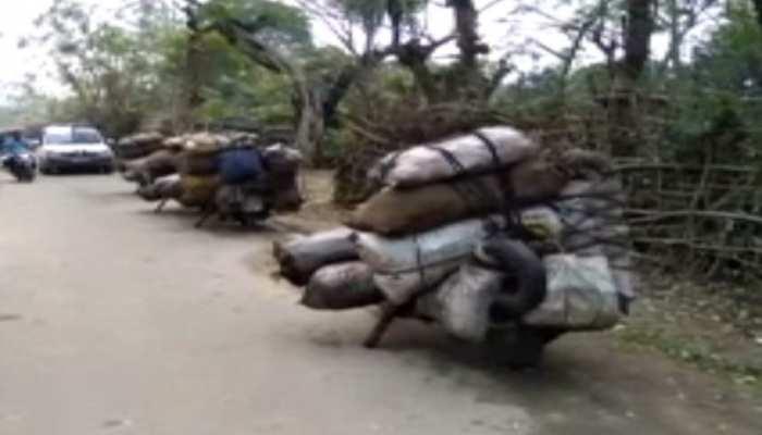 'काला सोना' के तस्करों के खिलाफ पुलिस की कार्रवाई जारी, जब्त किया 20 क्विंटल कोयला