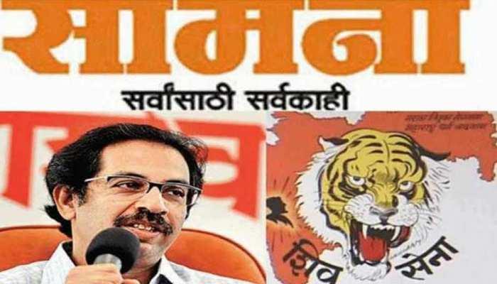 शिवसेना का सवाल- जब दिल्ली जल रही थी तो गृहमंत्री अमित शाह कहां थे?
