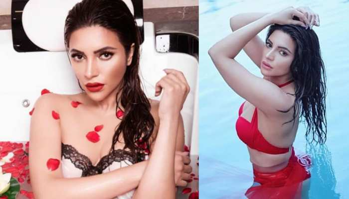 Shama Sikander was seen causing havoc in new photos