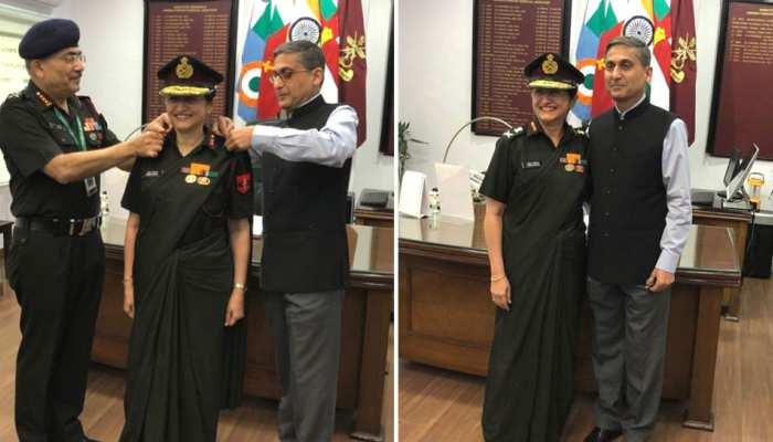 माधुरी कानिटकर बनीं देश की तीसरी महिला लेफ्टिनेंट जनरल, पति भी संभाल रहे यही पद