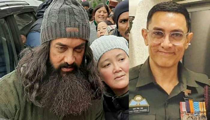Aamir Khan के नए लुक ने मचाया धमाल! वायरल हुआ 'Laal Singh Chaddha' का यह रूप